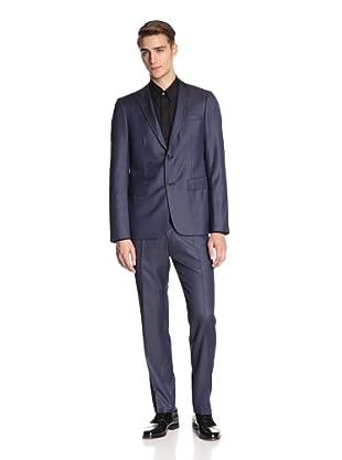 Jil Sander Men's Alexia Alessandro Suit Drop 8 Slim Fit (French Blue)