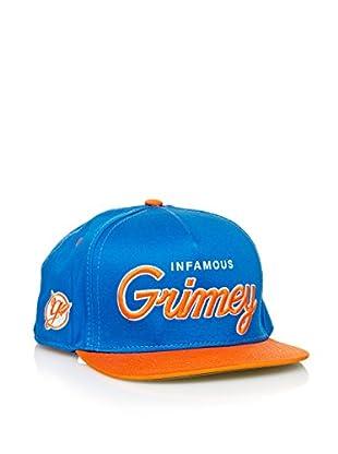 Grimey Wear Gorra de Baseball Vintage Core (Azul)