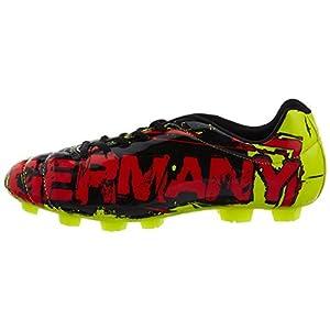 Nivia Encounter Germany Leather Football Studs - 6 UK