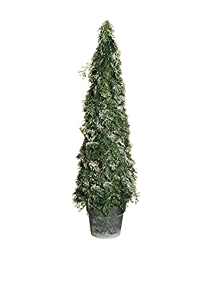 Evergreens Colgante Árbol Blanco/Verde