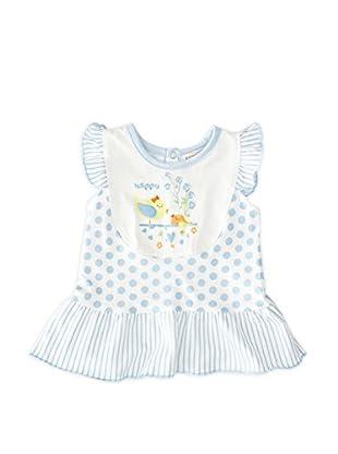 Pillerias Vestido Áulide (Azul / Blanco)