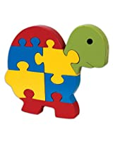 Skillofun Take Apart Baby Puzzle Large -Tortoise, Multi Color