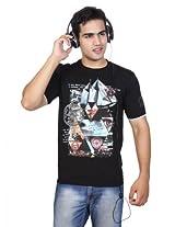 Duke Men Printed T-Shirt (Available In Black ,White)