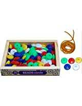 Little Genius Beads - Circle (Set of 100)