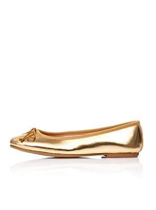 Bisue Bailarinas Liso (Oro)