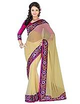 Deepika Saree Sari (Beige_G-135)
