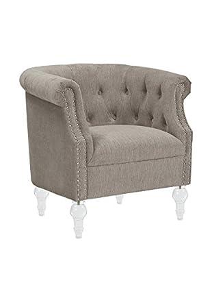 Jennifer Taylor Home Loren Armchair, Grey