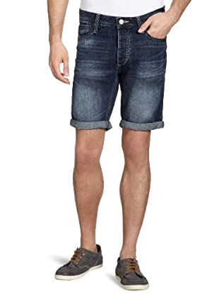 JACK & JONES Jeans Shorts (Azul Oscuro)