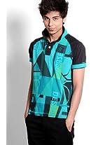 Aqua Blue Polo T Shirts