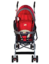 Mee Mee MM8369 Baby Stroller (Red)