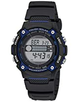 Casio Men's WS210H-1AVCF Tough Solar Powered Tide and Moon Digital Sport Watch