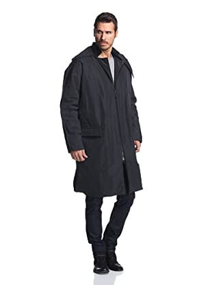 Lanvin Men's Long Parka (Black)