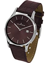 Jacques Lemans Analog Brown Dial Men's Watch - 1-1777I
