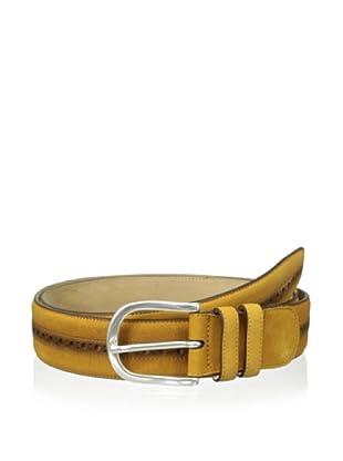 Mezlan Men's Suede Belt (Camel)