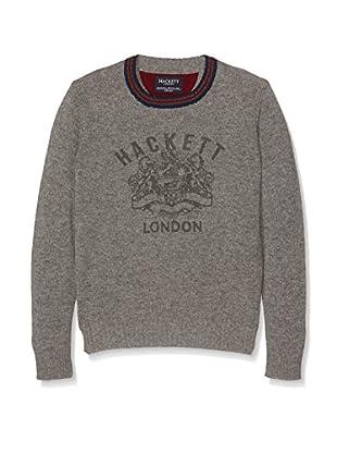 Hackett London Jersey Lana Vintg Prn Crw B