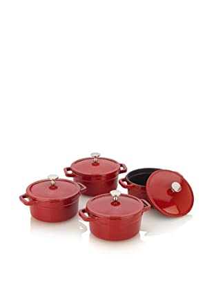Fagor Michelle B. Mini Dutch Ovens with Lid (Red)