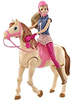 Barbie Doll & Horse Set That Really Gets Things Moving