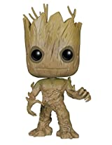 Funko Pop Marvel Guardians of the Galaxy Groot Vinyl BobbleHead Figure, Multi Color