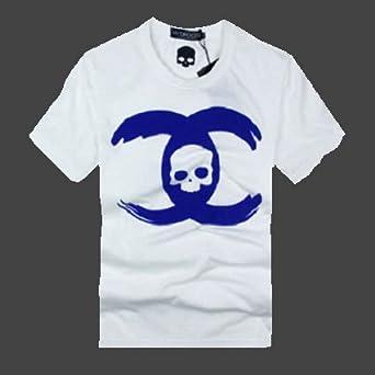 (ハイドロゲン)HYDROGEN Tシャツ メンズ ホワイト スカル 並行輸入品