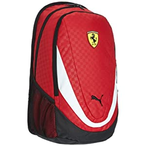 Puma Ferrari Replica Rosso Corsa Casual Backpack (7223101)