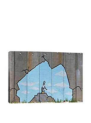 Banksy Art Attack Gallery Wrapped Canvas Print