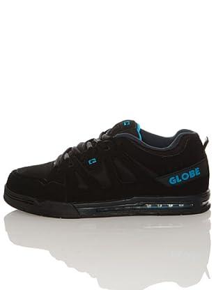 Globe Zapatillas Option (Negro / Azul)