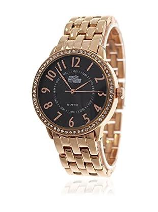 Pit Lane Uhr mit Miyota Uhrwerk Pl-4008-2 rosé 38 mm