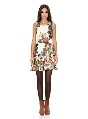 Rare London Vestido Multifloral (Multicolor)