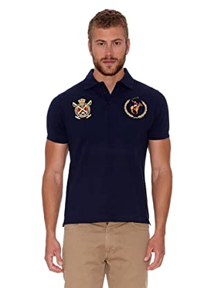 Polo Club Polo Custom Fit (Azul Marino)