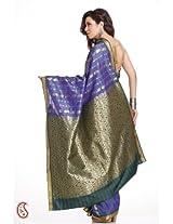 Designer Art Silk Embroidered Saree - SAR1319