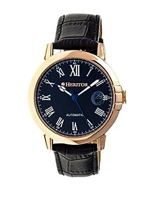 Heritor Automatic Uhr Laudrup Herhr2304 schwarz 43  mm