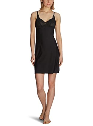 Esprit Bodywear Damen Nachthemd W1045/Louise (Schwarz (4))