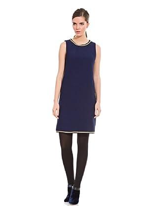 Cortefiel Vestido Cadena (Azul Marino)