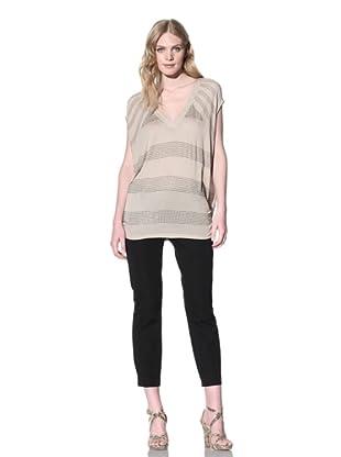 SB by Sheri Bodell Women's Crystal Stripe Tunic (Sahara)