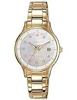 Esprit Analog White Dial Women's Watch - ES108622002