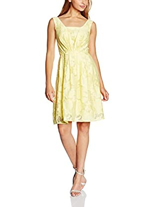 Yumi Vestido Jacquard Organza Dress