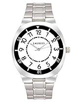 Laurels Polo 3 Analog White Dial Men's Watch ( Lo-Polo-301)