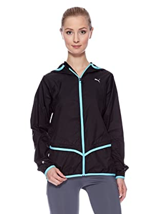 PUMA Jacke CR Core Hooded Light (Schwarz)