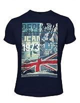 Pepe Jeans London 1973 Navy T-Shirt