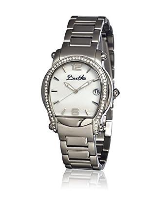 Bertha Uhr mit Japanischem Quarzuhrwerk Fiona silberfarben 39 mm