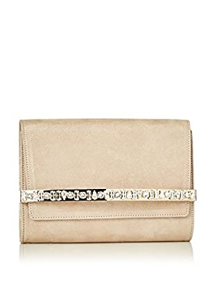 Jimmy Choo Clutch Bow   sand