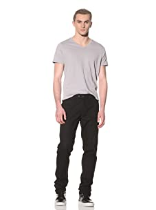 Number:Lab Men's Cotton Canvas Pant (Black)
