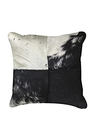Torino Quatro Large Pillow, Black/White