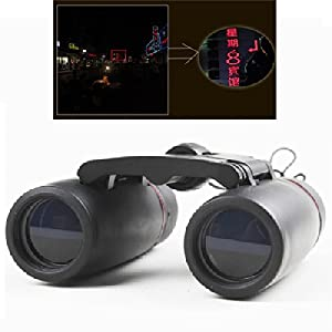 30x60 Day And Night Camping Travel Vision Spotting Scope Folding Binoculars Telescope