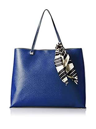 Ivanka Trump Women's Julia Shopper with Scarf Shopper, Cobalt