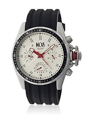 Mos Reloj con movimiento cuarzo japonés Mossm101 Negro 45  mm
