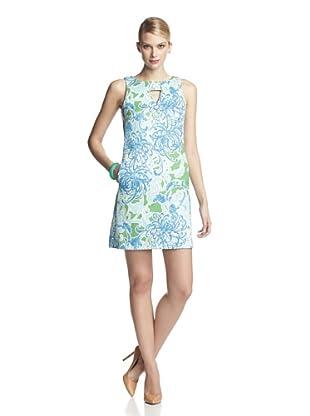 Taylor Women's Sleeveless Retro Sheath Dress (Turquoise)