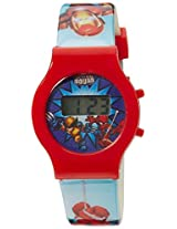 Marvel Digital Multi-Color Dial Children's Watch - DW100191
