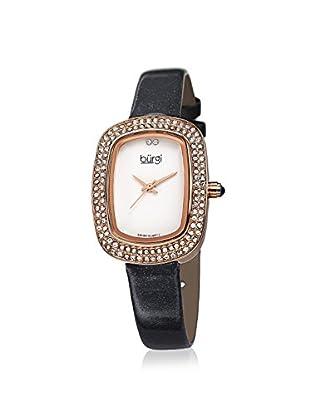 Burgi Women's BUR111GY Swarovski Crystal Grey/White Brass Watch
