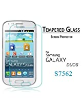 Totelec Premium Tempered Glass Screen guard for Samsung S Duos / S Duos 2 7562/ 7582